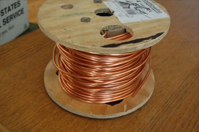 Bare solid copper wire 4 awg partial 200 ft spool 175 ft cerrowire bare solid copper wire 4 awg partial 200 ft spool 175 ft cerrowire keyboard keysfo Gallery