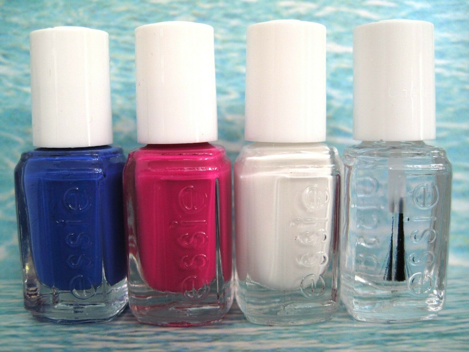 essie 2014 Summer Too Taboo Neon Mini Nail Polish Set of 4 Chills ...