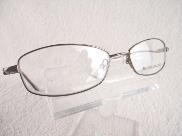 BCBG Gilda Brown 52 X 16 135mm Eyeglass Frame | eBay
