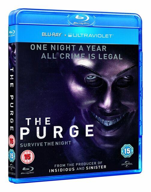 Blu ray THE PURGE. Horror. Brand new sealed.