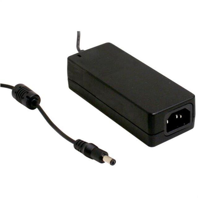 Desktop power supply 60W 24V 2,5A ; MeanWell GST60A24-P1J ; 5,5/2,1mm