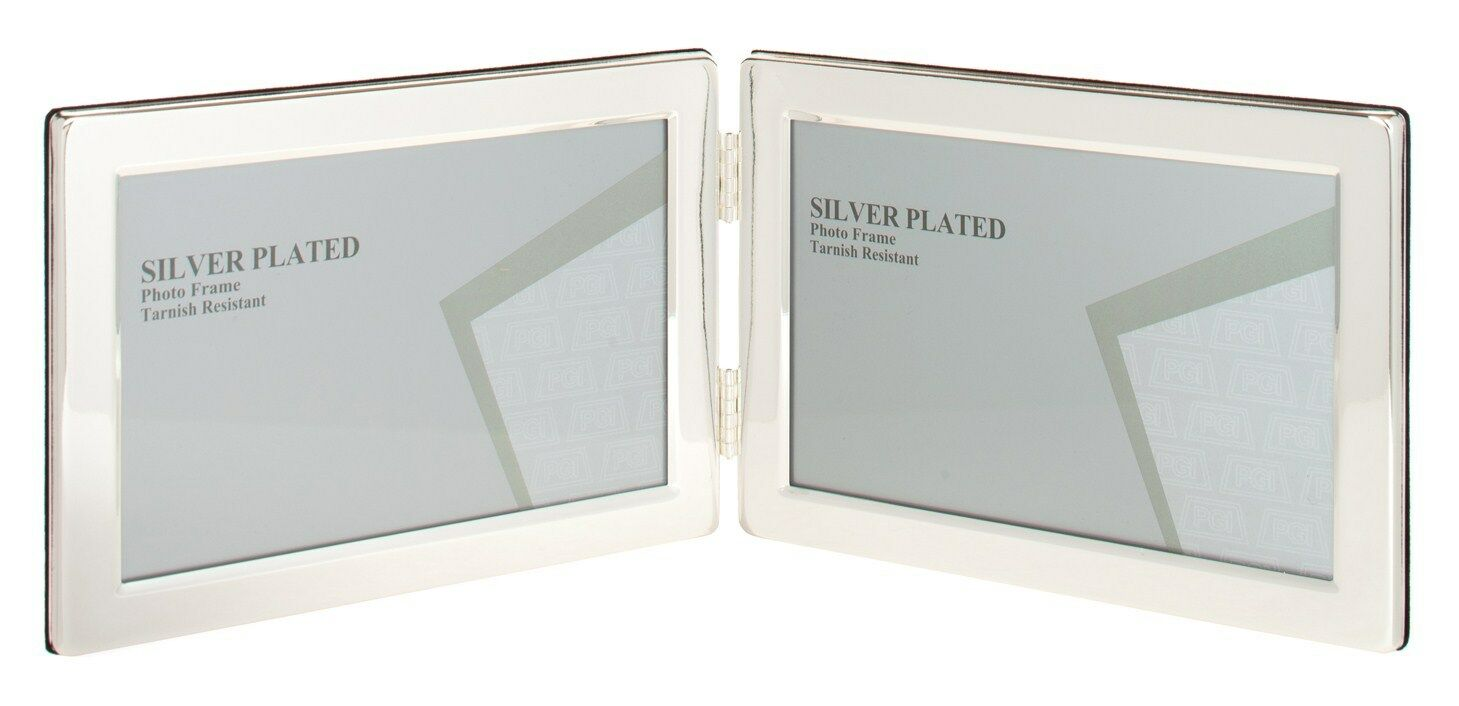 Unity 5 X 7-inch Landscape Double Photo Frame Silver Plated | eBay