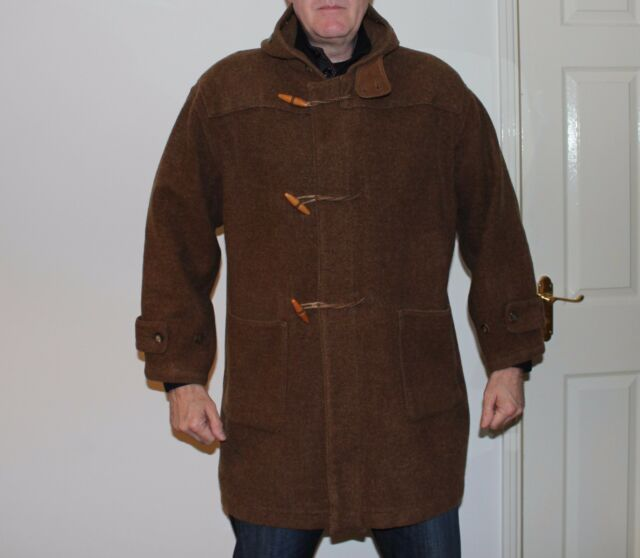 Authentic CP Company 100 Wool Duffle Coat Art 23184640 Size 50 but ...