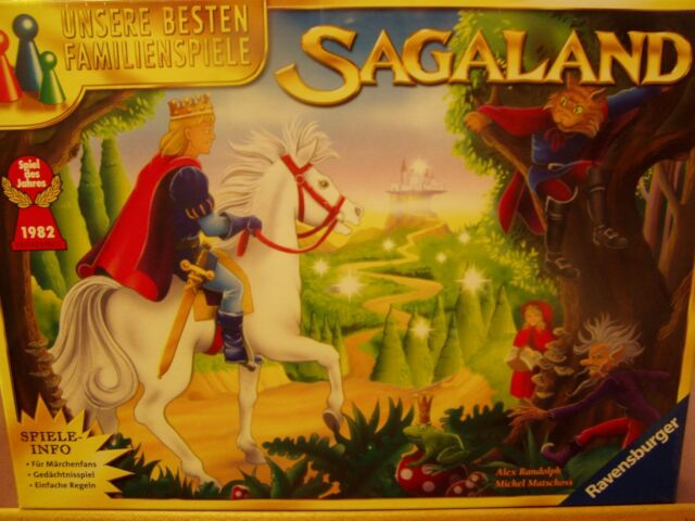 Ravensburger 264247 Sagaland Spiel des Jahres 1982 Neu & OVP !!!