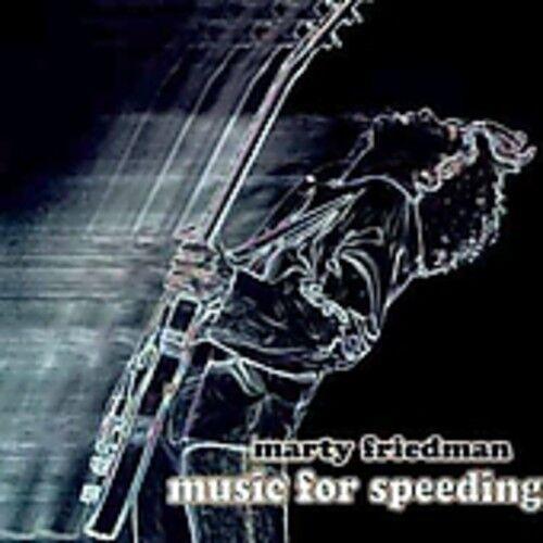 Marty Friedman - Music for Speeding [New CD] Asia - Import