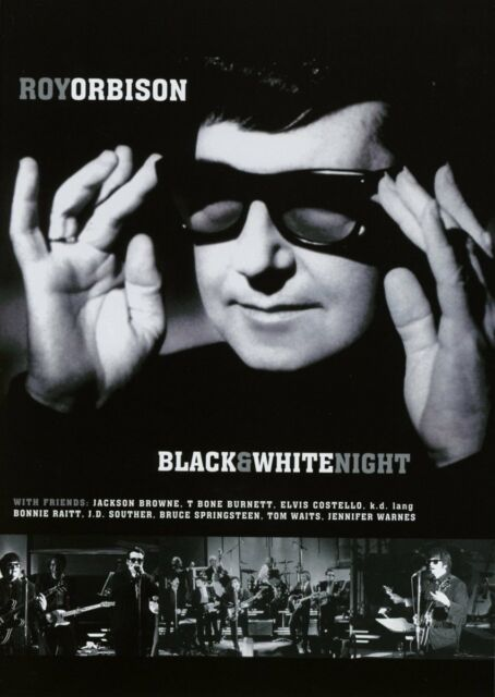 Roy Orbison - Black & White Night - DVD NEW & SEALED Springsteen, Costello, Lang