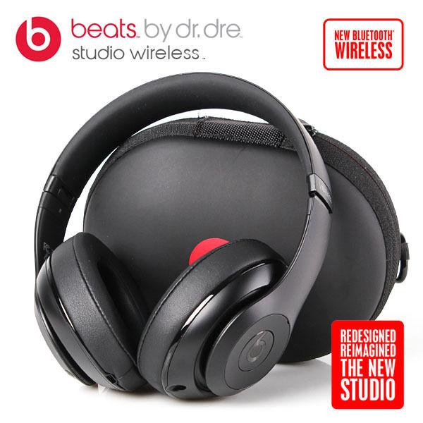 Beats by Dr. Dre Studio 2.0 Wireless Over-Ear Headphones - Matte black