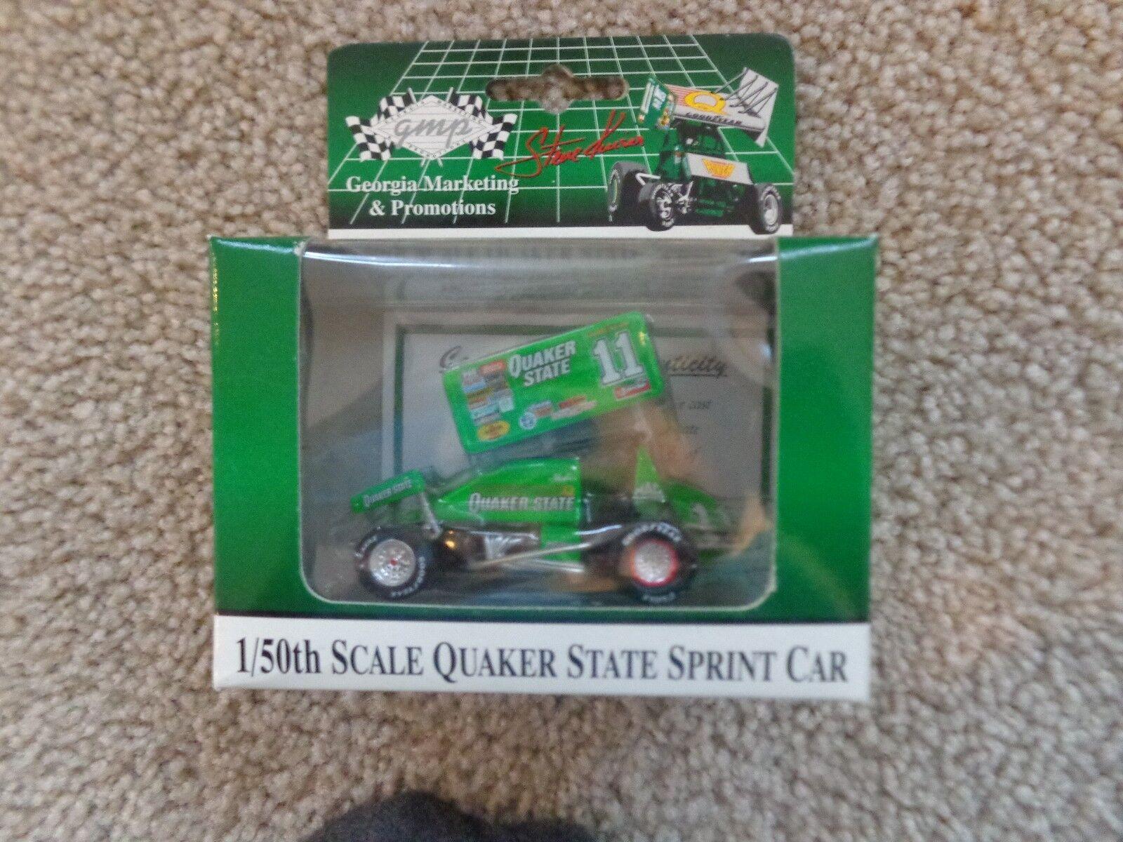 Steve Kinser Quaker State 1st Edtion World of Outlaws Sprint Car 1 ...