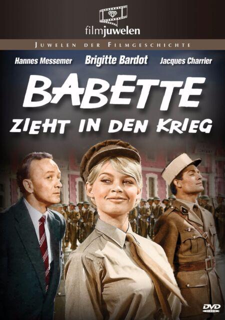 Babette zieht in den Krieg - mit Brigitte Bardot - Filmjuwelen DVD