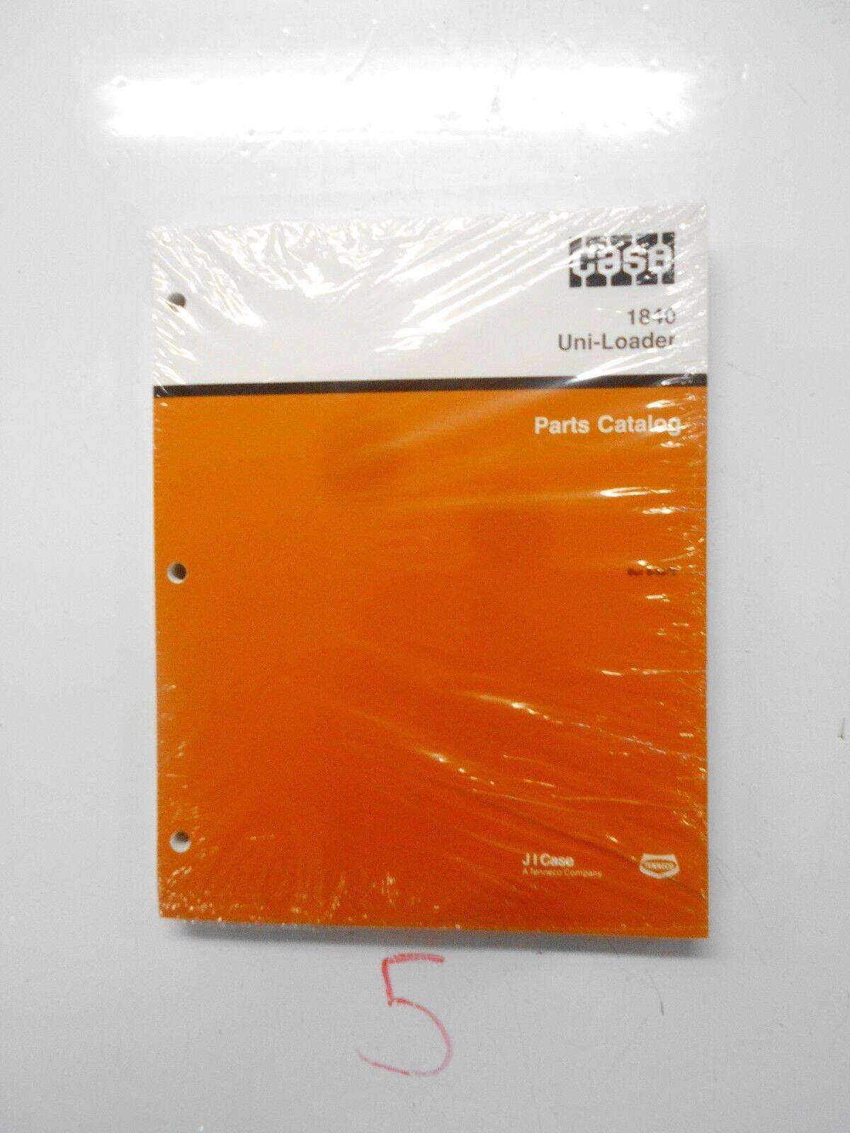 case 1840 uni loader parts manual catalog skid steer assembly rh ebay com Case 1840 Schematic Diagram Case 1840 Service Manual