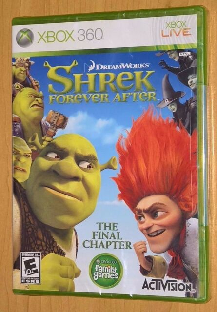 Shrek Forever After: The Final Chapter (Xbox 360) NEW SEALED - Video Game