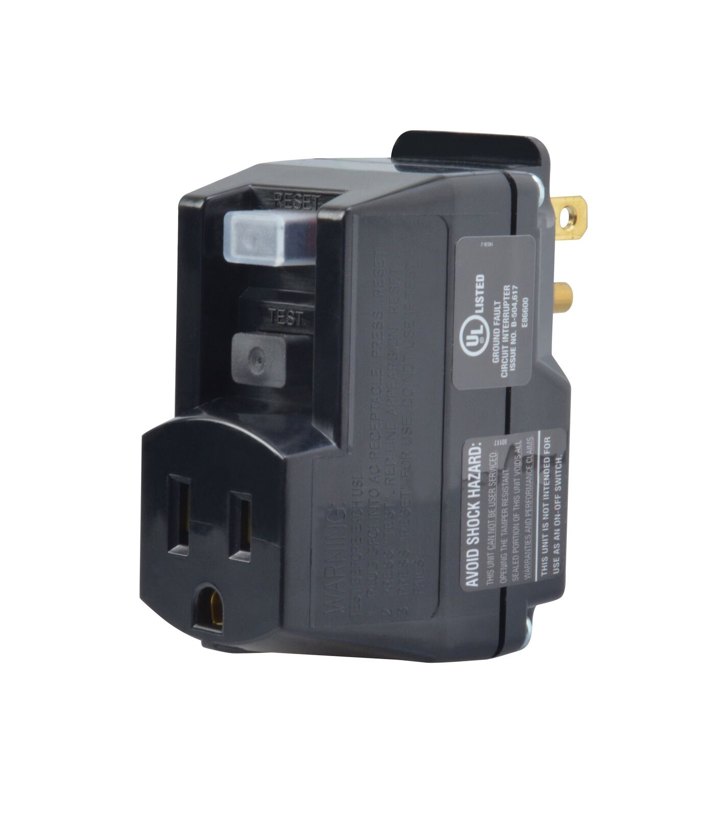 Yellow Jacket 2762 Plug in GFCI Surge Protector 2\