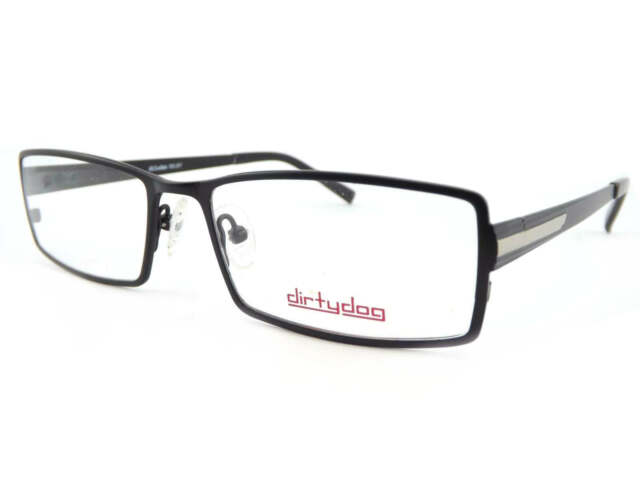 Dirty Dog Reading Glasses Frames Only Selby Satin Black Mens RX ...