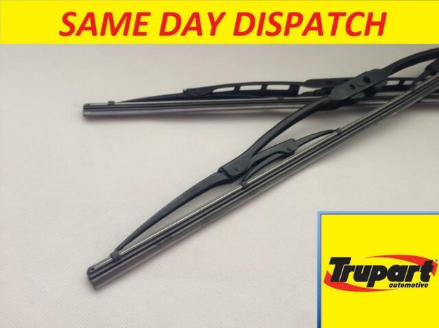 BMW 3 SERIES E36 MK3 TOURING ESTATE 91-01 FRONT WINDSCREEN WIPER BLADE X2 PAIR