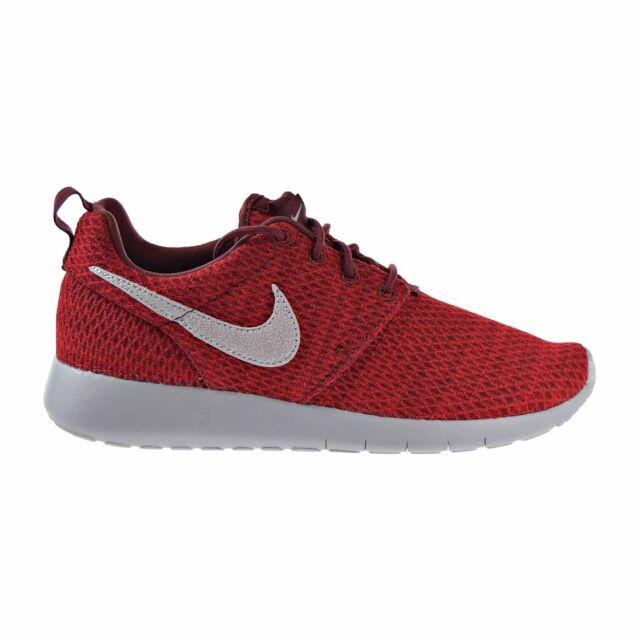 Nike Roshe One GS Big Kids Shoes Dark Team RedWolf Grey 599728 607