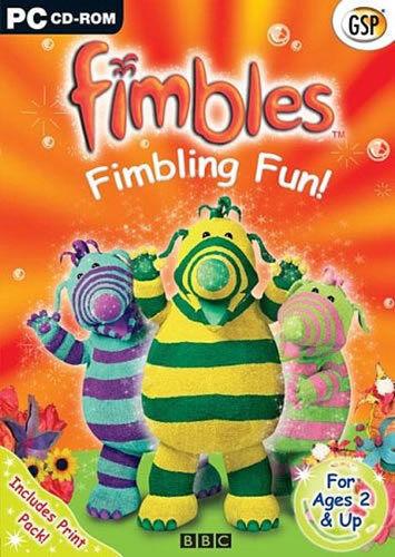 "FIMBLES -  FIMBLING FUN  PC  ""NEW AND SEALED"" FAMILY"