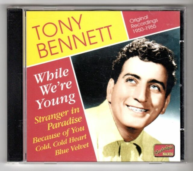 (GY197) Tony Bennett, While We're Young (1950-1955) - 2006 CD
