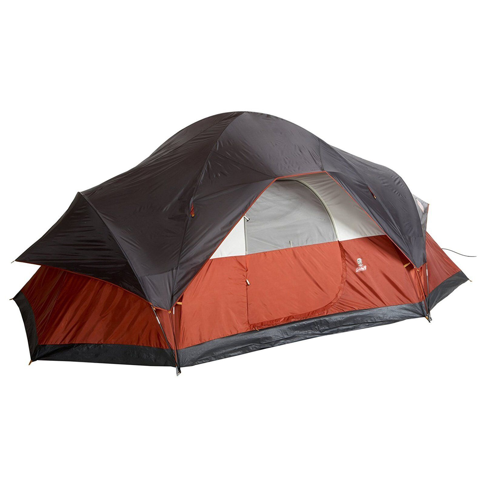 Coleman Red Canyon 8 Person 17 x 10 Foot Outdoor C&ing Large Tent  sc 1 st  eBay & 8 Person Tent | eBay