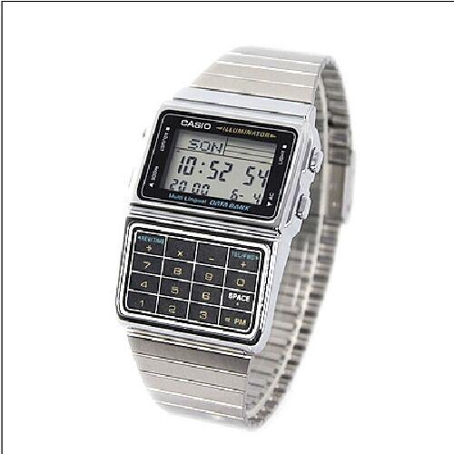 Casio Herrenuhr mit Taschenrechner DBC-611E-1EF