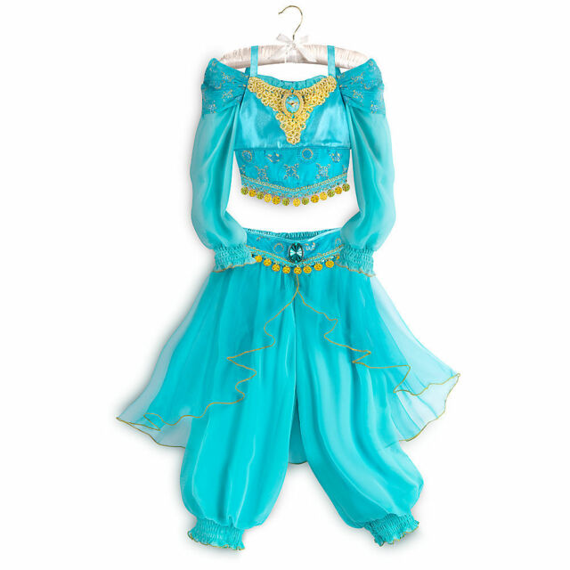 Disney Store Princess Jasmine Costume Dress Girl Size 4 5/6  sc 1 st  eBay & Disney Princess Jasmine Costume Dress Girl Size 4 5/6 4 | eBay