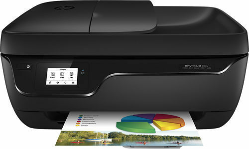 NEW HP OfficeJet 3830/3833 All-In-One Printer-wireless+Fax-2side-ink Included