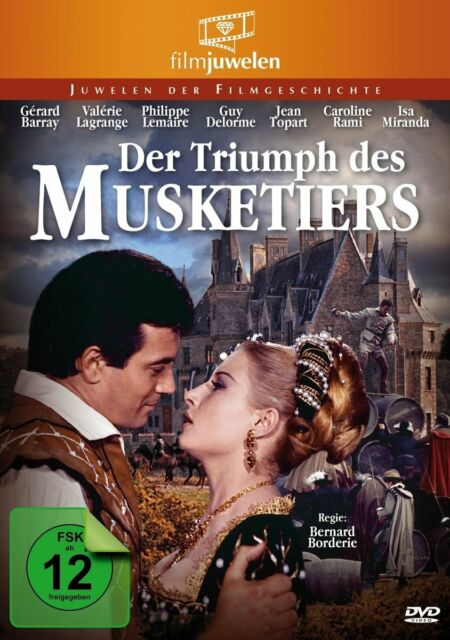 Der Triumph des Musketiers (Gerard Barray, Valerie Lagrange) DVD NEU + OVP!