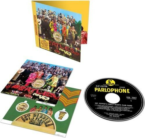 The Beatles - Sgt. Pepper's Lonely Hearts Club Band [New CD] Anniversary Edition