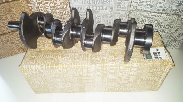 genuine crankshaft renault clio megane 1 5 dci k9k 8200382457 ebay. Black Bedroom Furniture Sets. Home Design Ideas