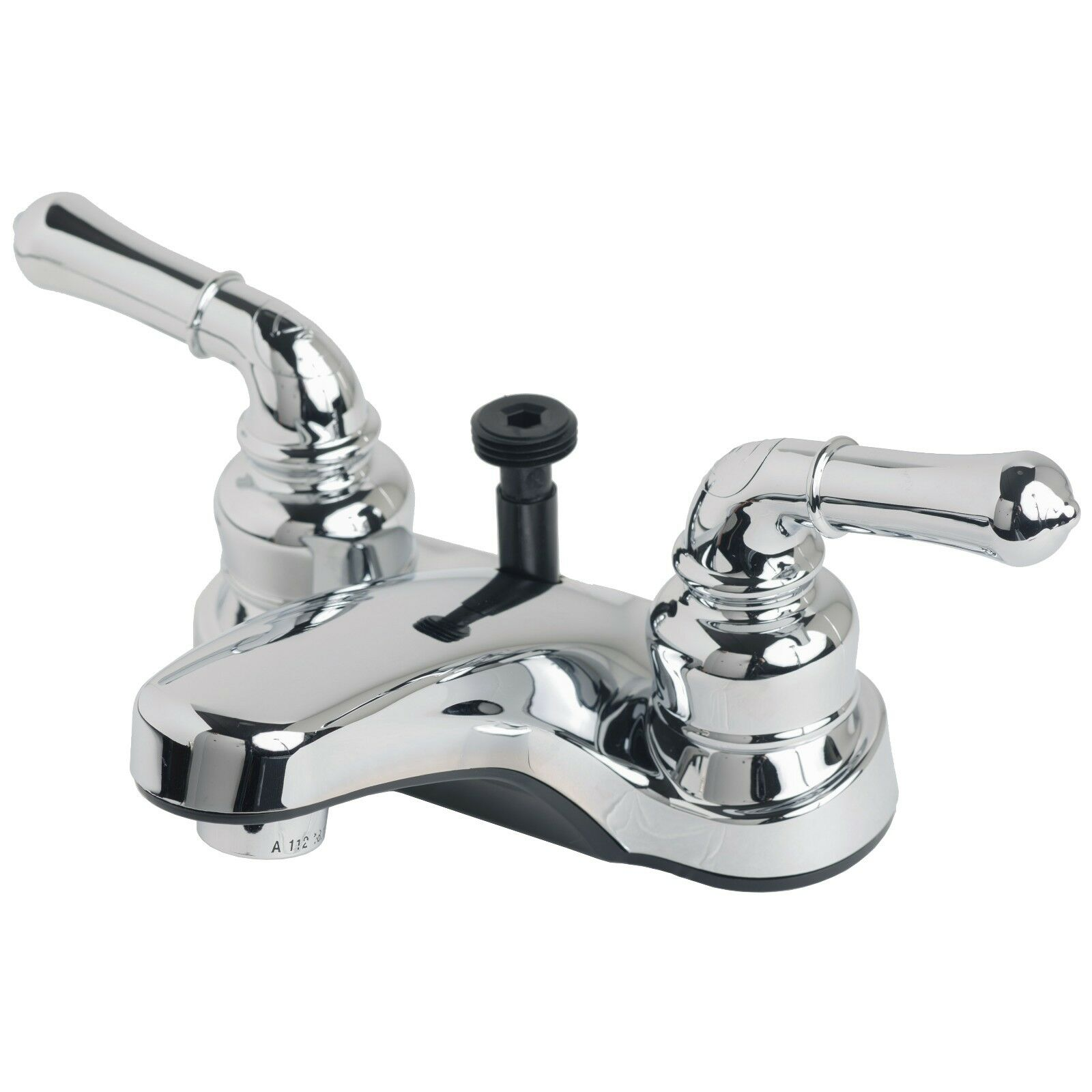 RV Bathroom Centerset Lavatory Faucet With Hand Shower Diverter ...