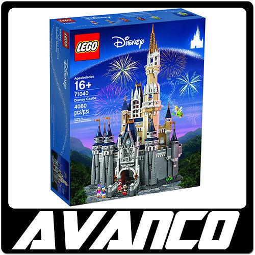 LEGO Disney Castle 71040 Mickey Minnie Donald Daisy Tinker Bell BRAND NEW SEALED