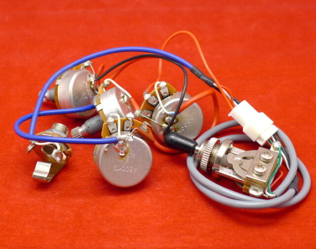 epiphone pro wiring harness alpha pots switches fit gibson les paul rh ebay com