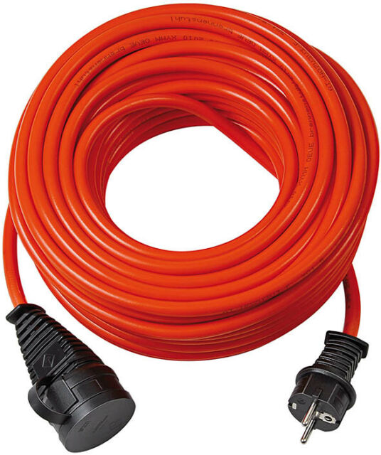 Brennenstuhl BREMAXX Verlängerungskabel Kabel IP44 10m rot 1169830 NEUWARE