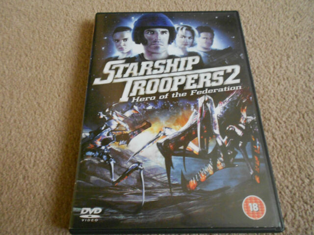 Starship Troopers 2: Hero Of The Federation (DVD) Phil Tippett