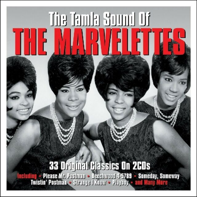 MARVELETTES - THE TAMLA SOUND OF DOPPEL-CD NEU