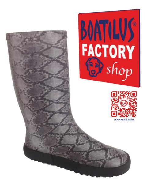 Bottes de Pluie Femme Boatilus Woman Rain Boots Stivali Pioggia Galosce Donna