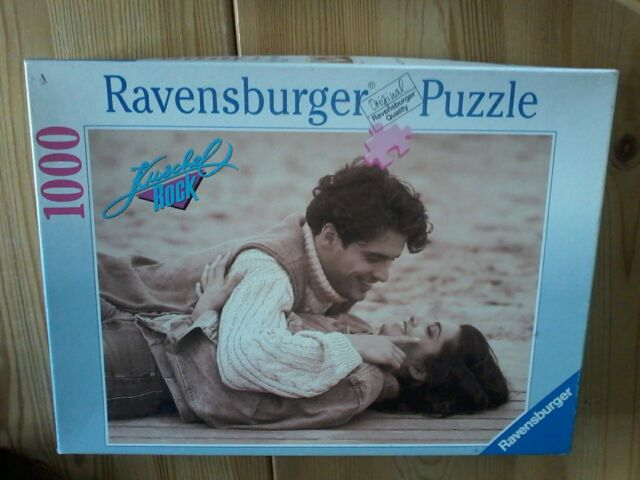 1000 Teile Puzzle Ravensburger Kuschel Rock Power Of Love