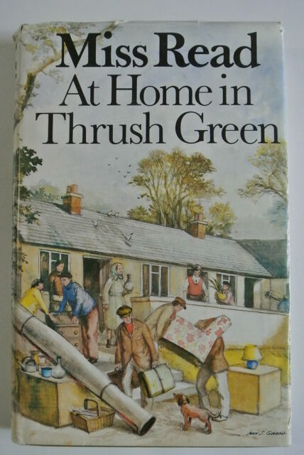 Book. At Home in Thrush Green by Miss Read (Hardback, 1985). First Edition. 1985