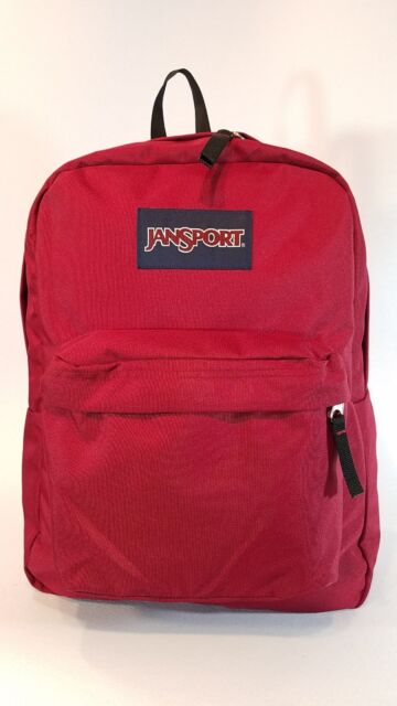 JanSport Superbreak Backpack Viking Red | eBay