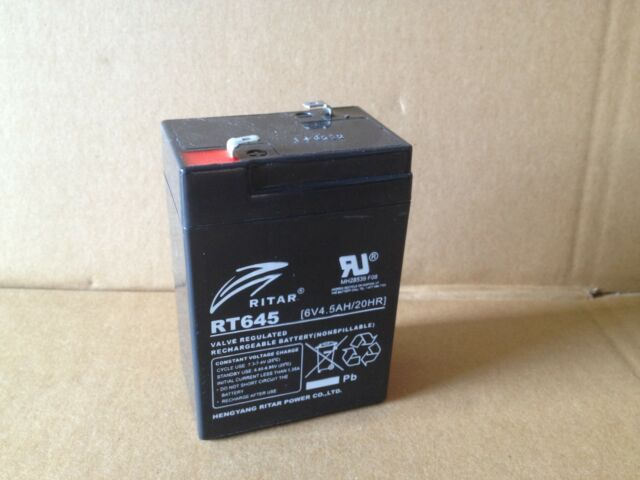 Cy-0112, 6v 4ah, John light, Sealed Lead Acid Replacement Battery