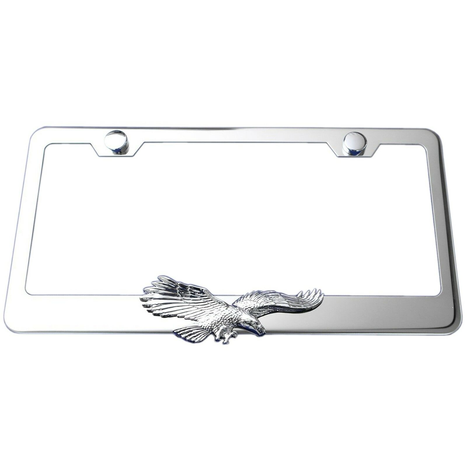 picture 1 of 3 - Eagle License Plate Frame
