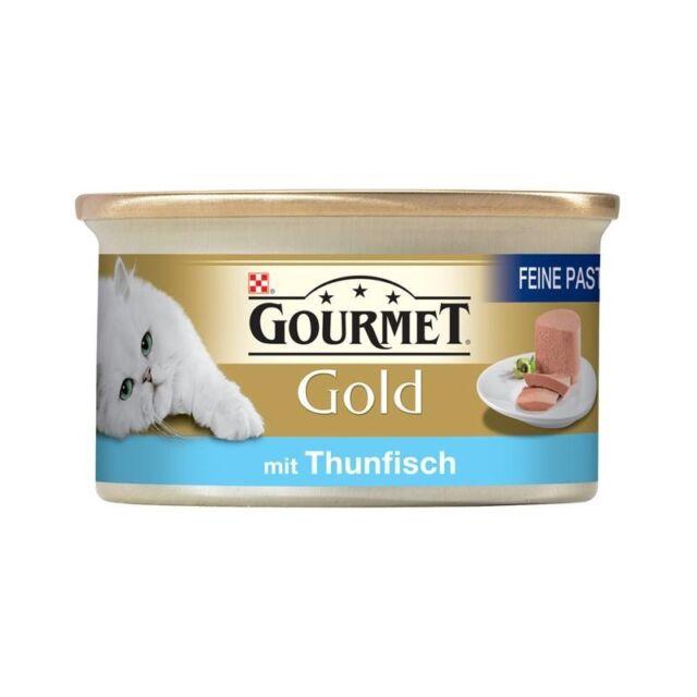 Gourmet Gold Thunfisch | 12x85g Katzenfutter nass