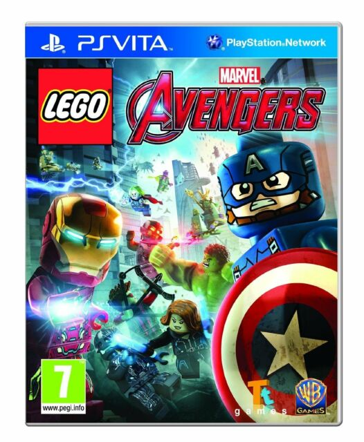 PS Vita Spiel Lego Marvel Avengers für Playstation PSV NEU