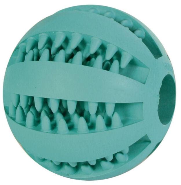 TRIXIE Ball Mintfresh 7 cm Denta Fun Zahnpflege Naturgummi Gummiball Hunde Ball