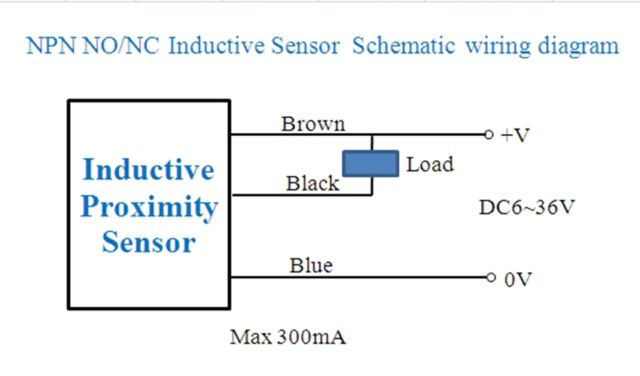 s l640 npn sensor wiring diagram npn proximity switch wiring diagram Hall Effect Switch at gsmx.co