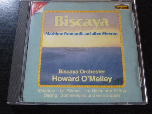 """CD """"Biscaya - Maritime Romantik"""" von Biscaya Orchester Howard O´Melley / 50.701"""