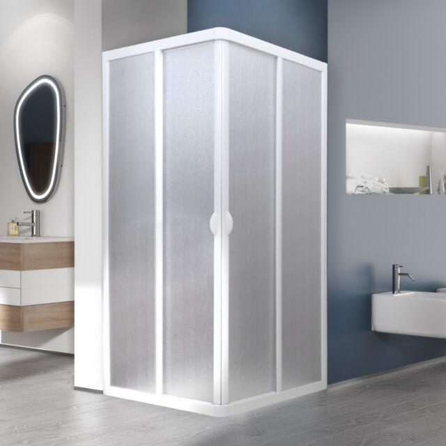 Forte Bse100001 Box doccia angolo cm 70x70 Bianco Acrilico | eBay