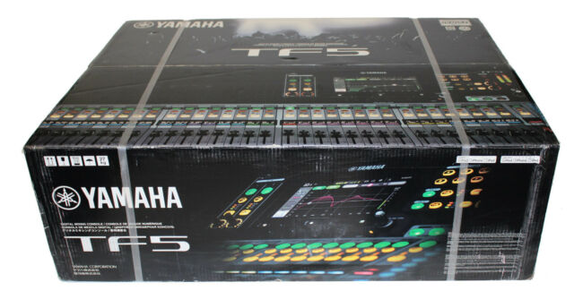 yamaha tf5 32 channel digital mixer ebay. Black Bedroom Furniture Sets. Home Design Ideas