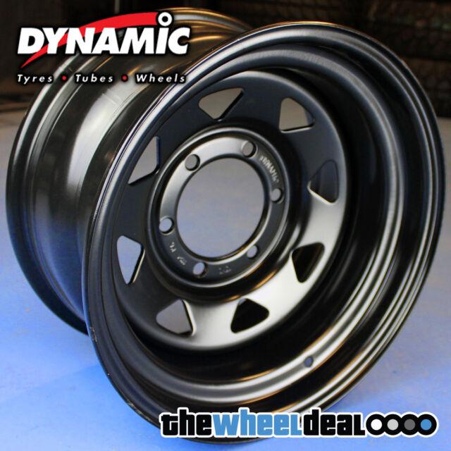 Dynamic Black Sunraysia Wheel Rim 16x7 6/139.7 +42 Ford PX Ranger Mazda BT-50