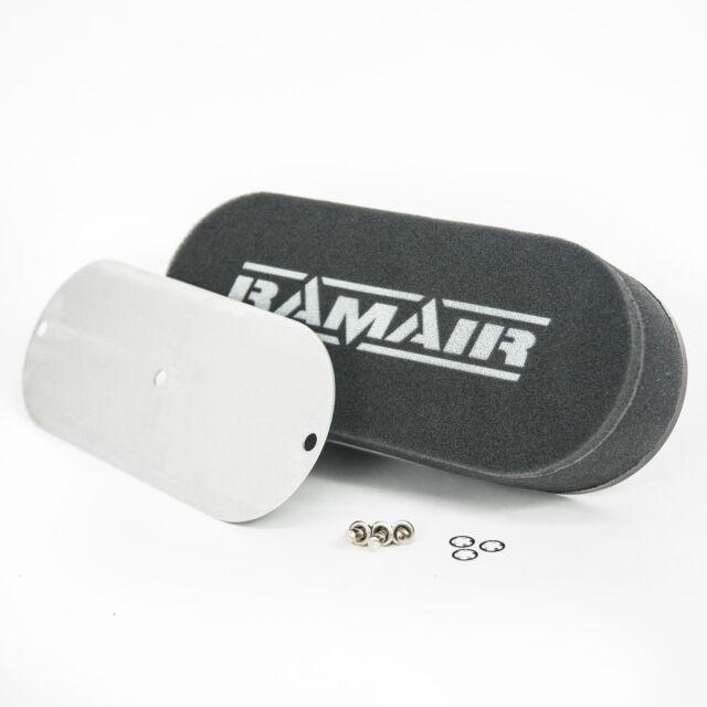 RAMAIR Performance Twin Carb Bolt On Foam Air Filters Custom Kit Car Locost 40mm