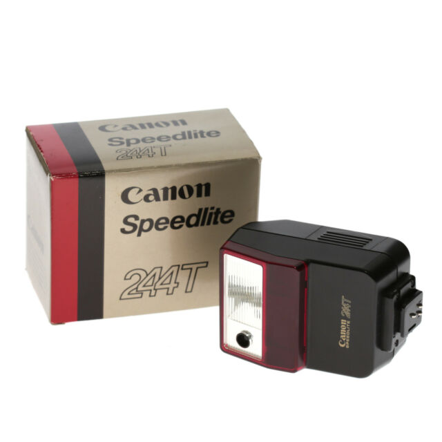 Canon Speedlite 244T Flash Aufsteckblitz für die Canon T-Serie mit OVP